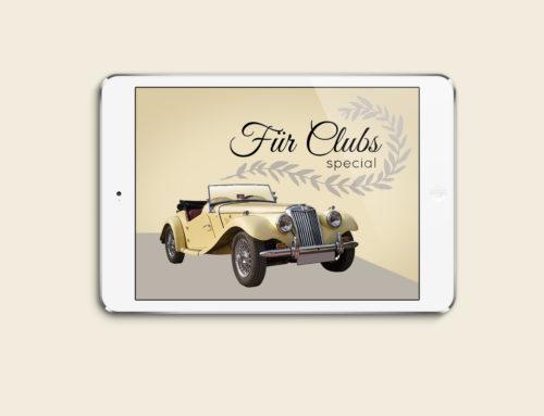 Angebot für Oldtimersclubs zum Jahresanfang