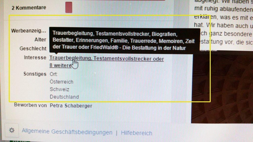 Zielgruppenauswahl-Kleine-Chronik-FB