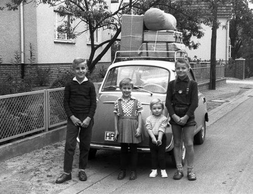 Reisen mit dem Kleinwagen in den 50ern