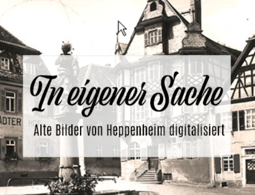 Freunde alter historischer Postkarten von Heppenheim