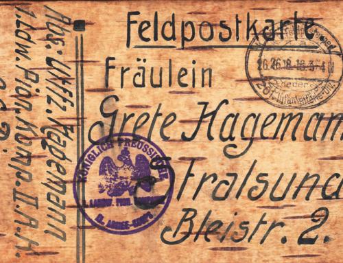 Träume 1918 – Der Malergeselle von Stralsund