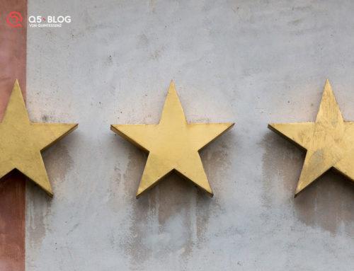 Sterne statt Kommentare – die neue Funktion auf Blog Q5